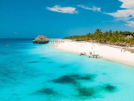 Relax on the Coast of Zanzibar